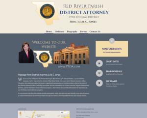 website development Red River Parish District Attorney