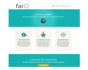 Website Development Project for Faro Beacons